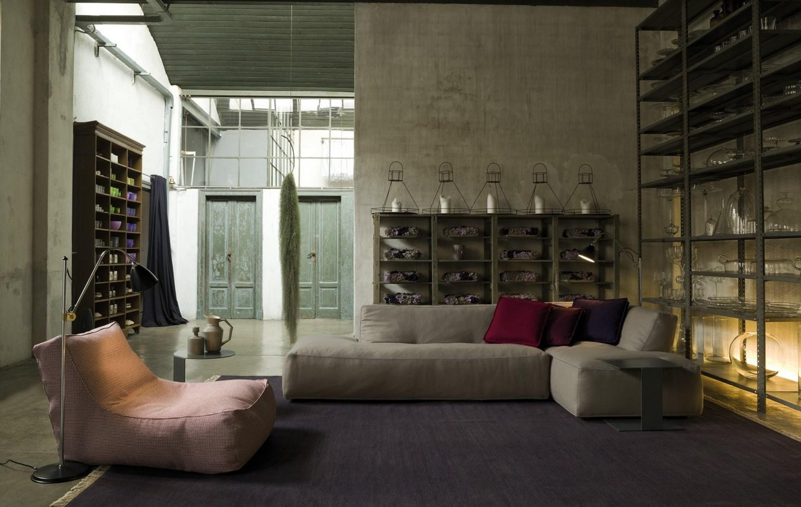 interieur ontwerp met designmeubels verzelloni flos